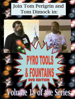 D8Q - Pyro Tools & Basic Fountains DVD